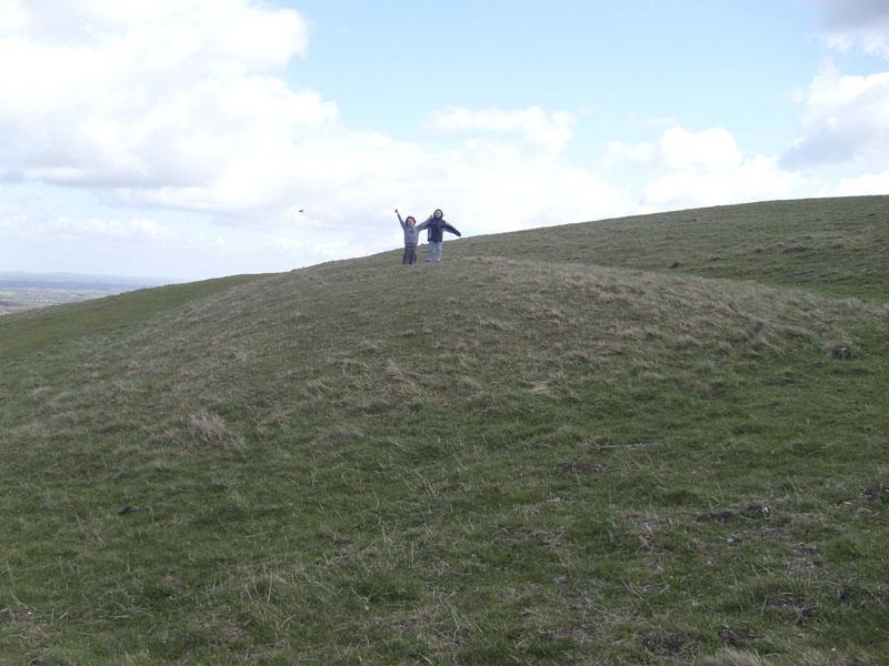 Long Barrow near Uffington